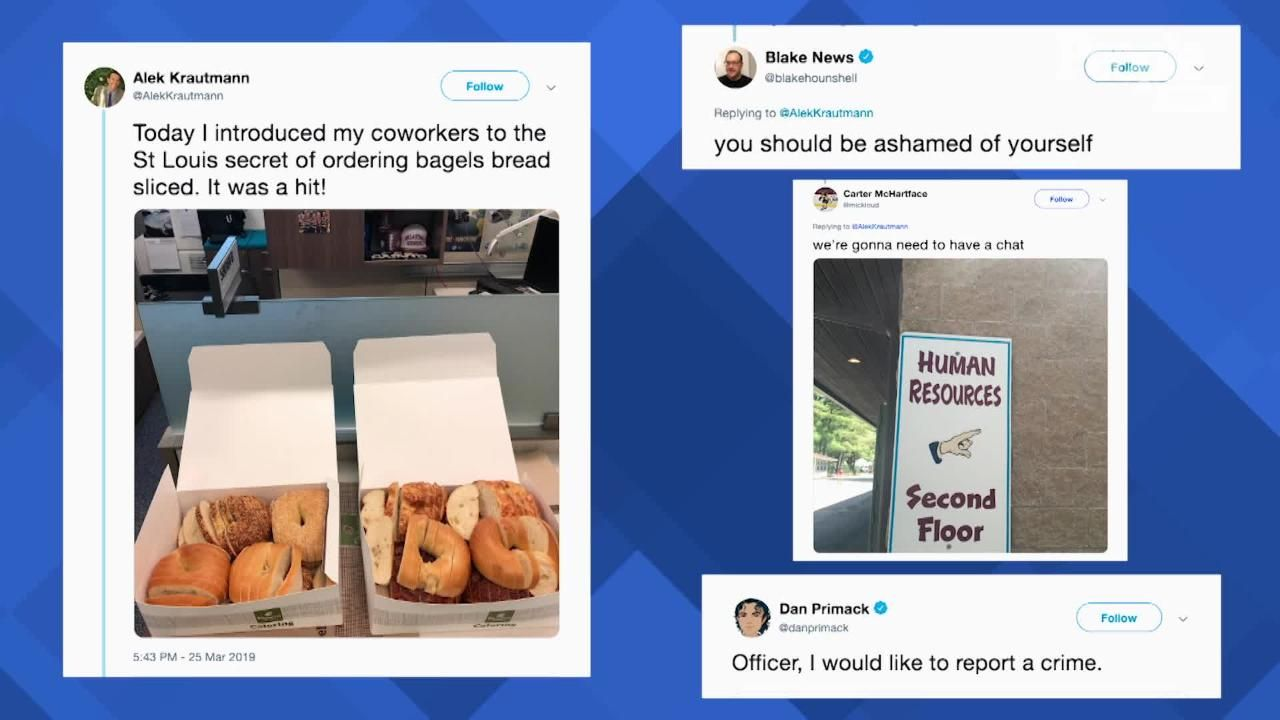 Bagelgate Isn T Over As Panera Is Putting Up Billboards Featuring Bread Sliced Bagels In St Louis