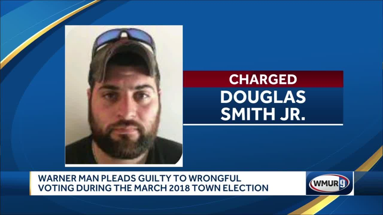 Warner man pleads guilty to wrongful voting during March 2018 town election