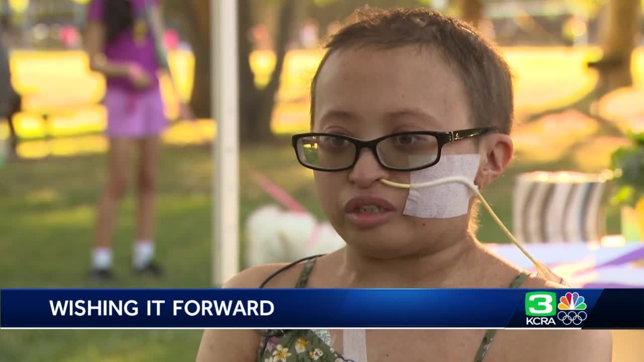 Sacramento teen's dying wish: Help other kids get their own wishes