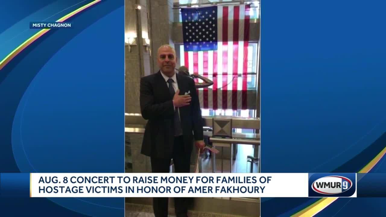 Aug. 8 concert to raise money for families of hostage victims
