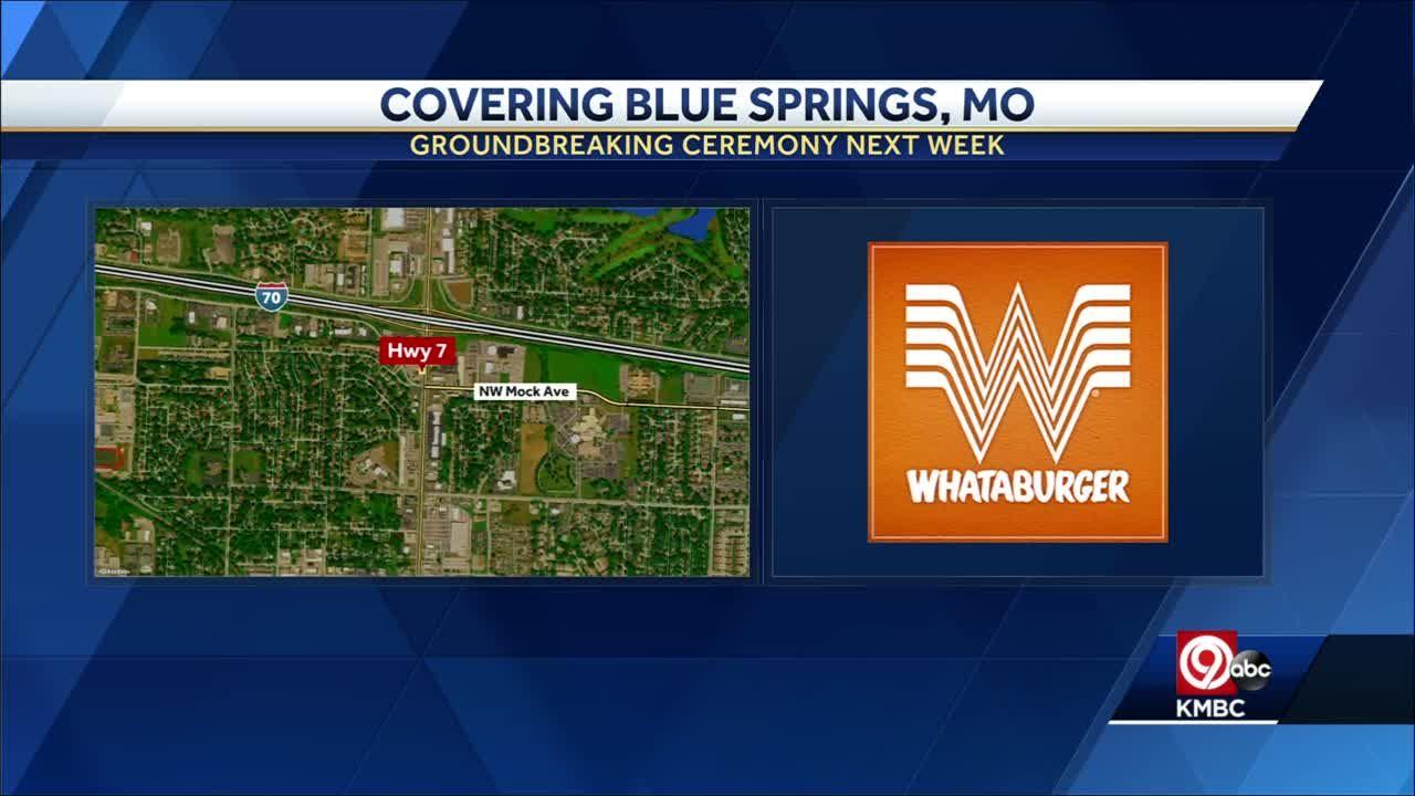 Whataburger to break ground next week on Blue Springs restaurant
