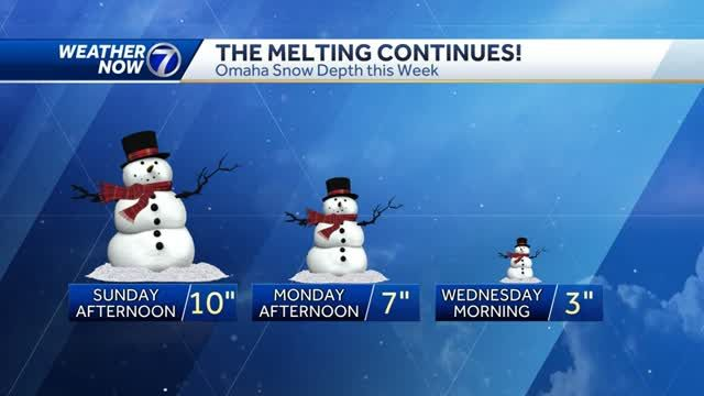 More sun, seasonable temperatures Wednesday afternoon