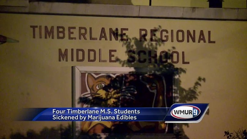 4 middle school students sickened after eating marijuana