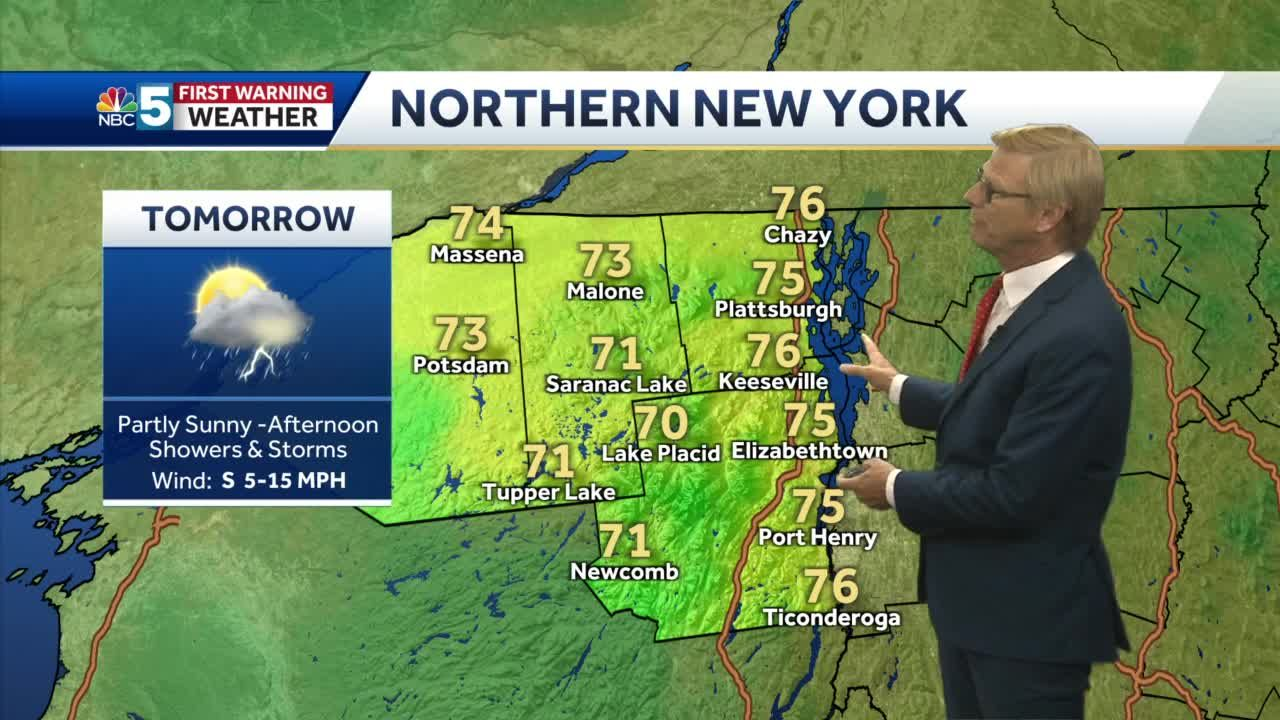 Video: Tom Messner is watching for storms Thursday afternoon. 7.28.21