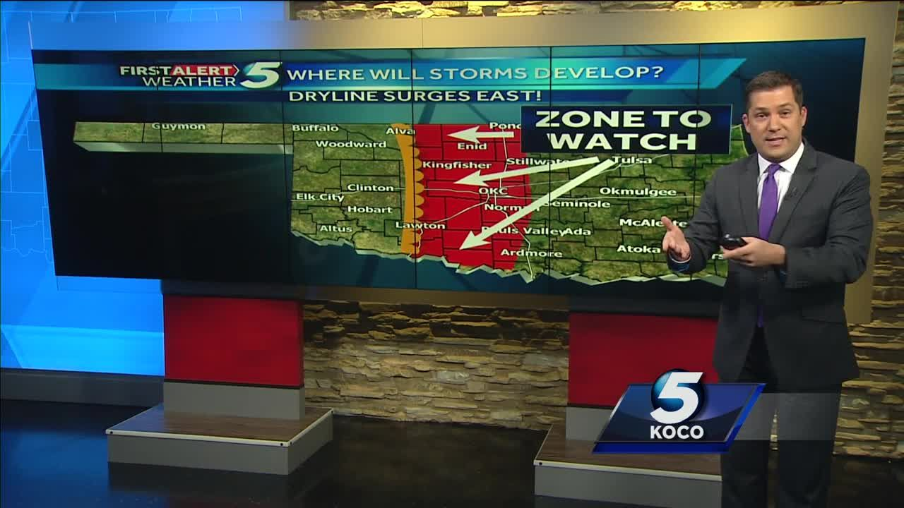 Damon Lane gives First Alert Spring Weather Outlook