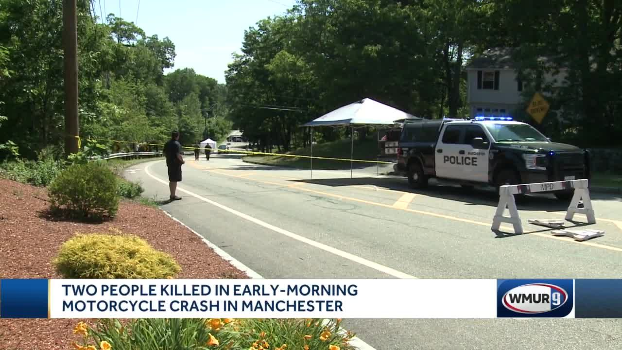 Two people killed in early-morning motorcycle crash in Manchester