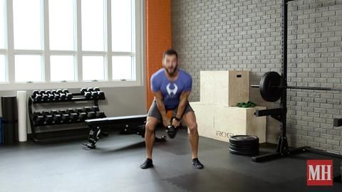 The Phenomenal Fat-Burning Swing-and-Squat Workout