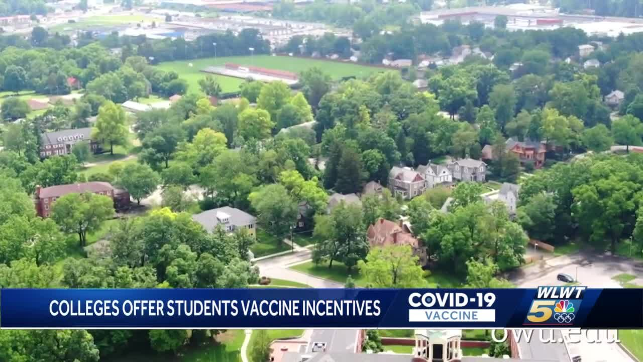 Ohio colleges offer students vaccine incentives