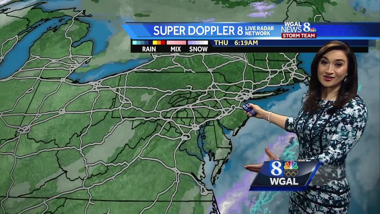 Cold day ahead, but warmer weekend expected
