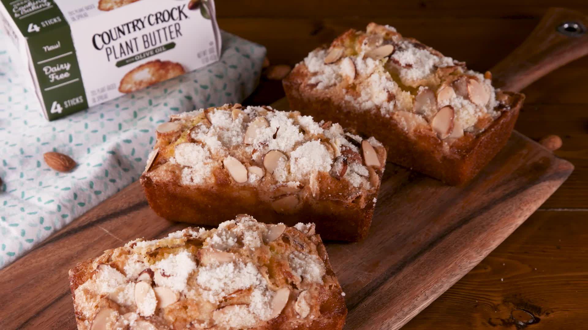 Mini Almond Olive Oil Loaves