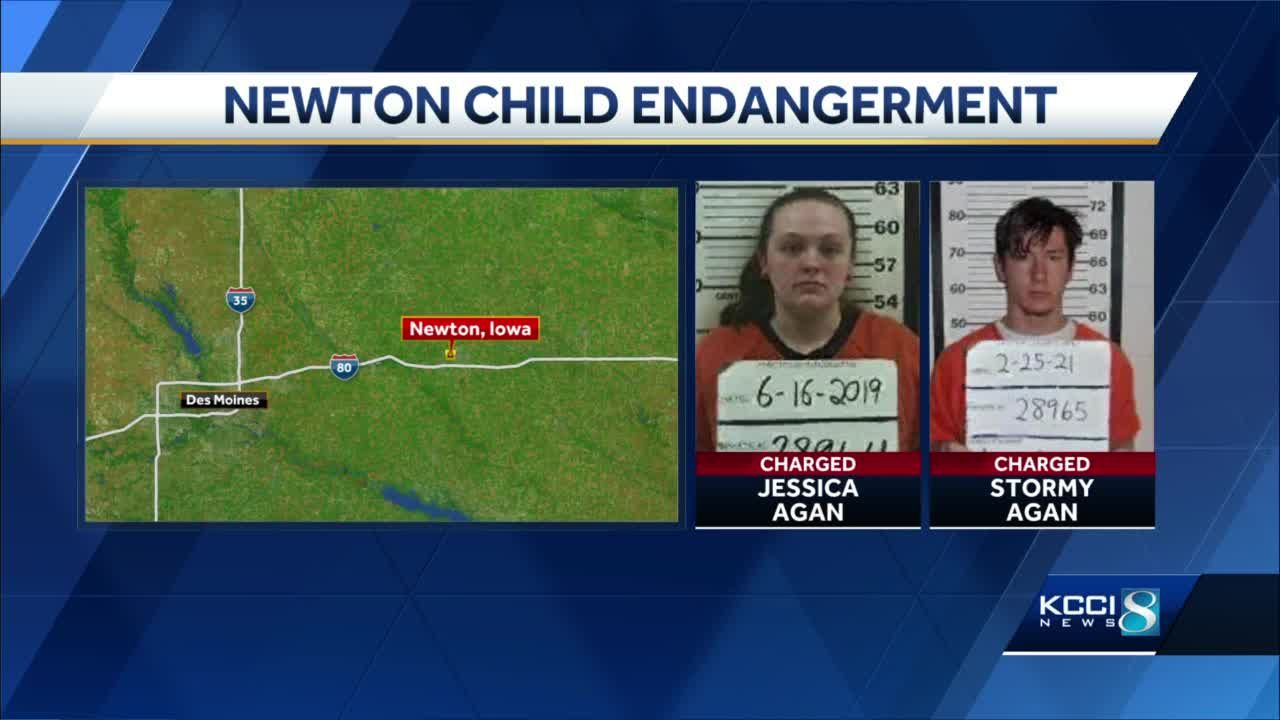 Newton parents charged after 3-month-old found with broken bones