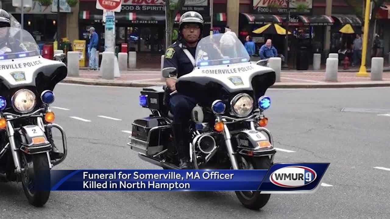 Funeral held for Somerville officer who died after I-95 crash