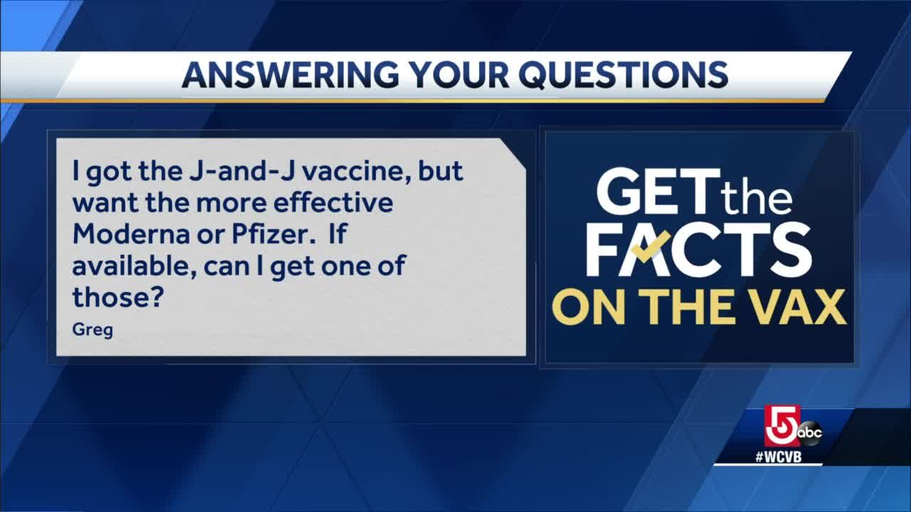 Can patient who received J&J vaccine get Pfizer, Moderna ones too?
