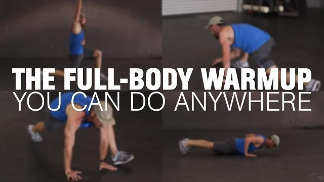 How to Warm Up For Any Workout In 2 Minutes
