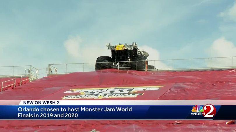 Monster Jam returning to Orlando