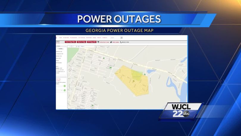 Fallen Trees Cause Power Outages