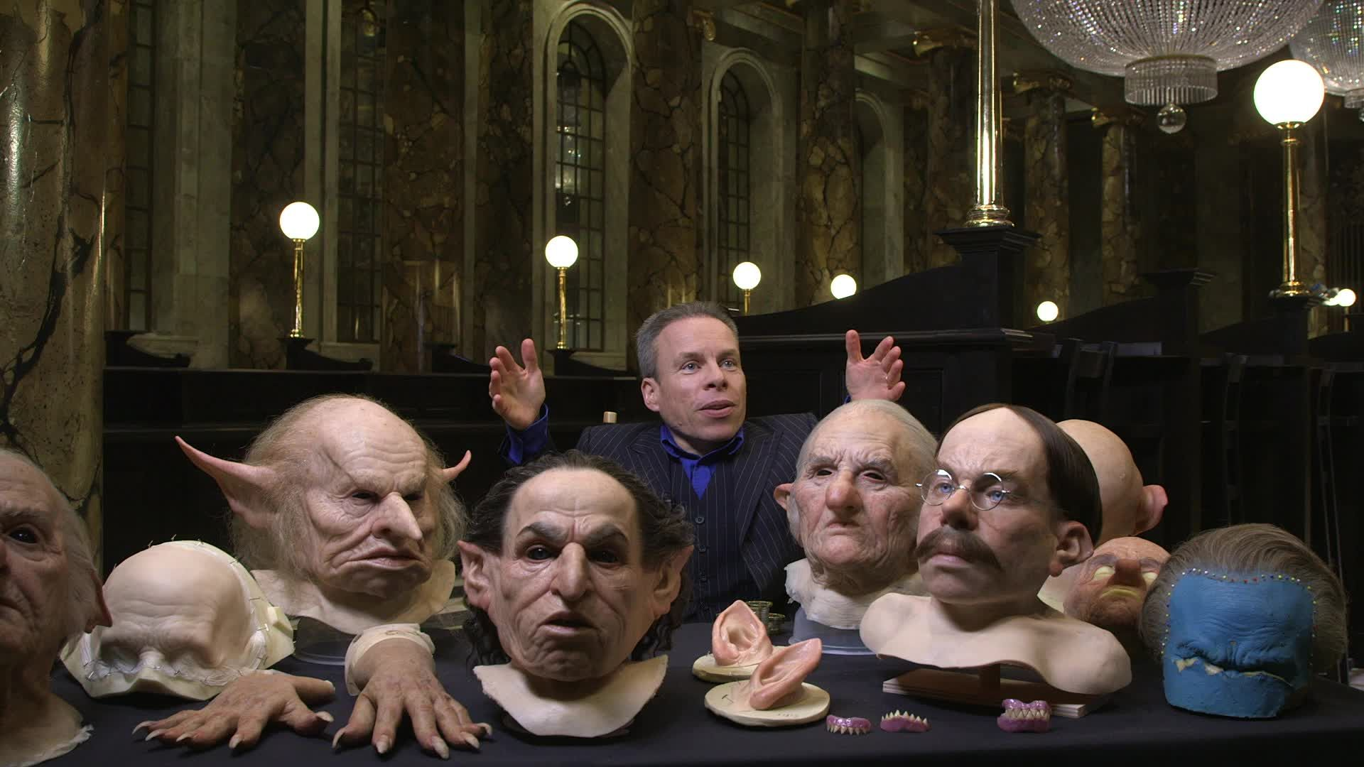The incredible thing you missed from the Harry Potter Gringotts bank scene