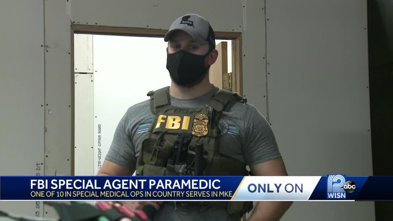 Milwaukee-area man serves as special agent, paramedic for FBI