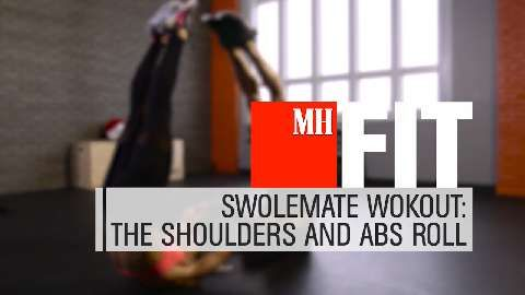 Light Your Shoulders and Abs On Fire With This At-Home Workout