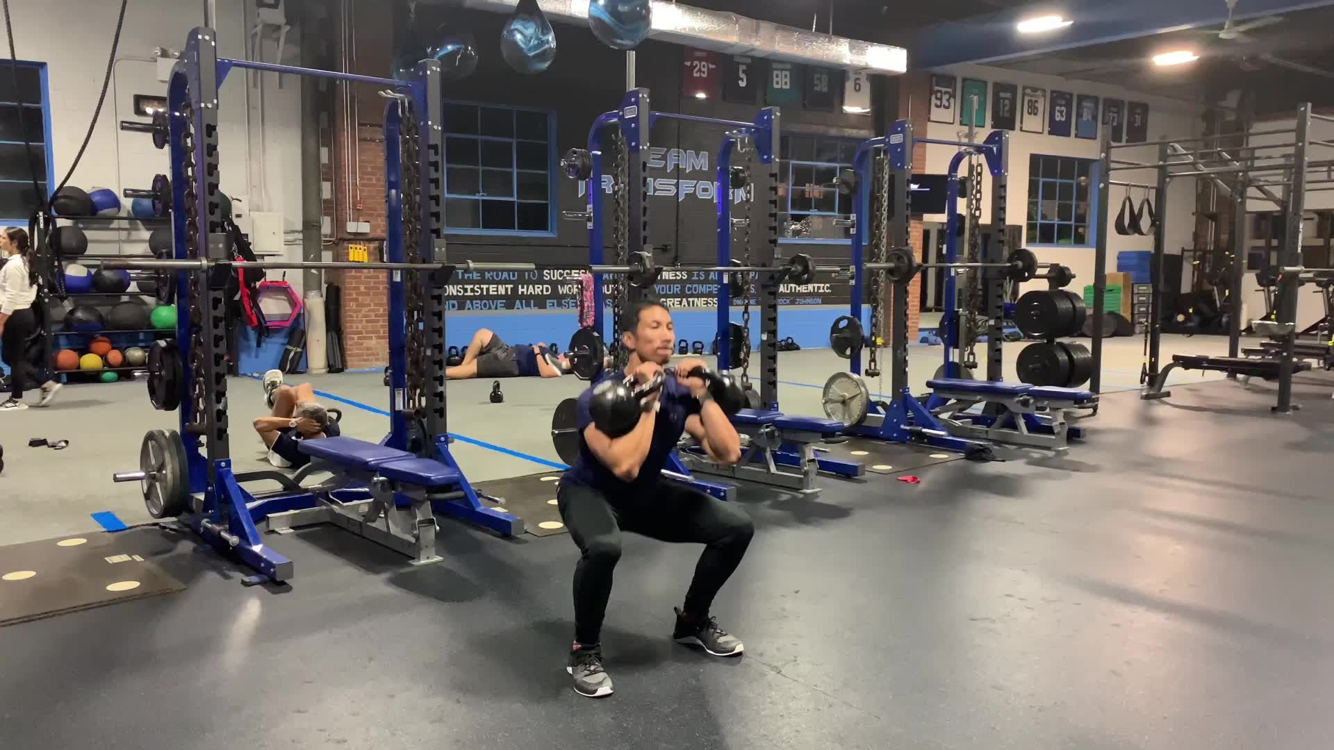 Challenge Your Mind as Much as Your Legs With This Squat Series