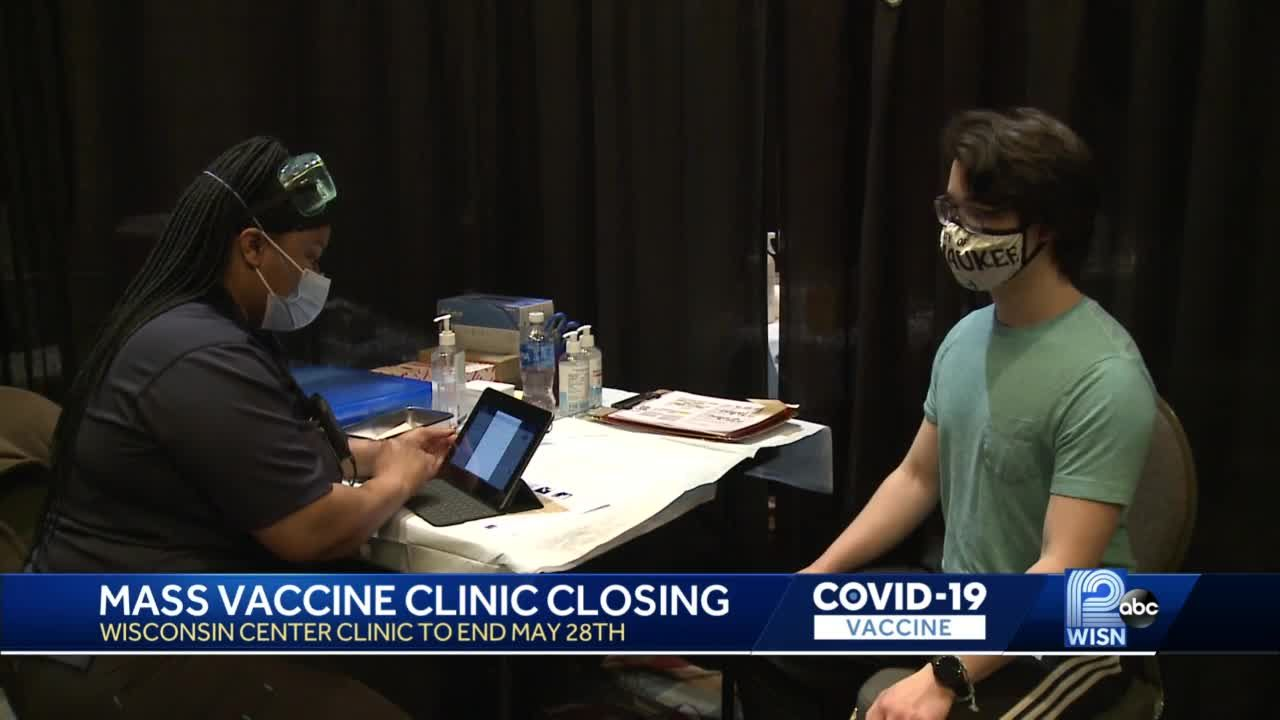 FEMA closing Wisconsin Center vaccine site