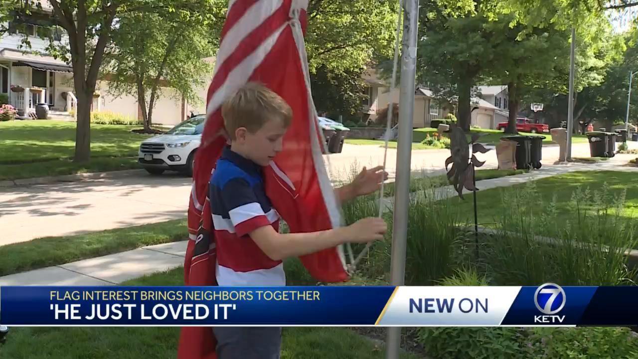 Flag Interest Brings neighbors together