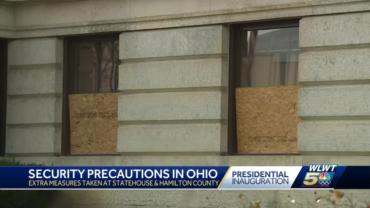 Precautionary barriers to be installed at Hamilton County Courthouse for Inauguration Day