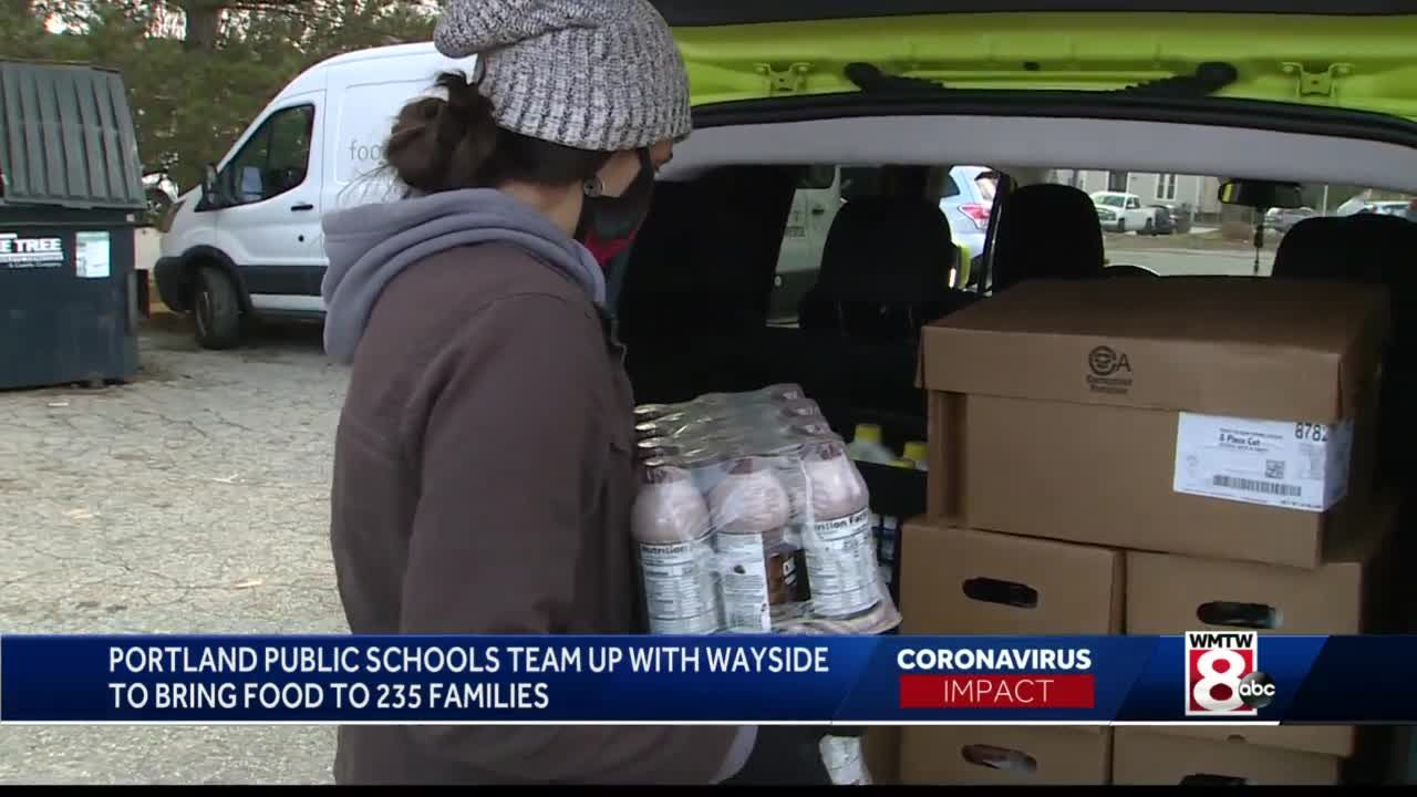 Portland schools team up with Wayside to feed families
