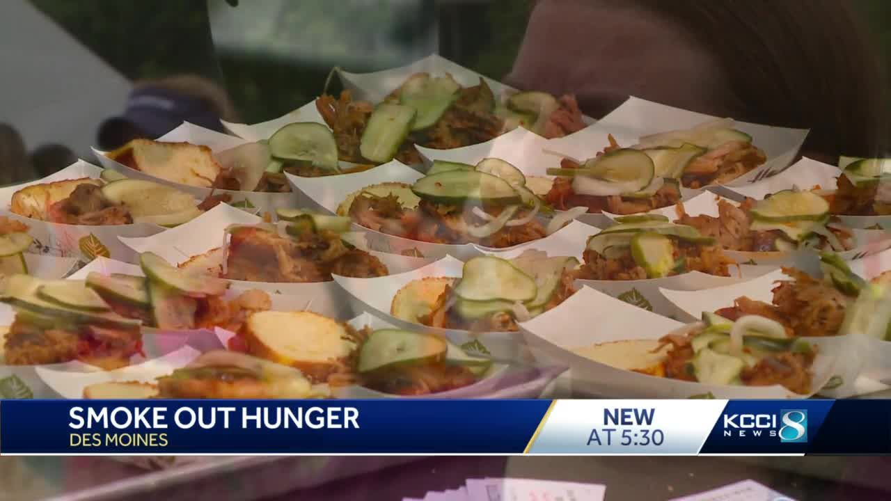Smoke Out Hunger event aims to end food insecurity in Iowa
