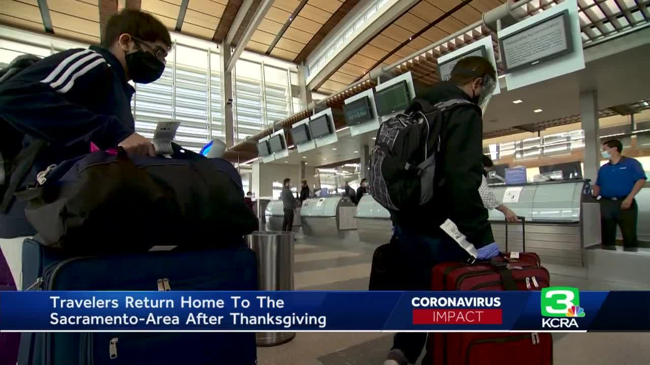 Holiday travelers returning to CA after holiday split on whether or not to self-quarantine