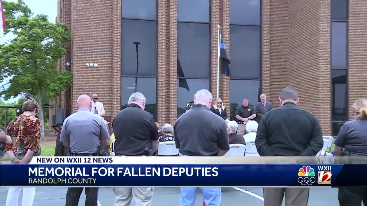 Randolph County Sheriff's Office holds Blessing of the Badges ceremony in addition to a Fallen Officer Memorial