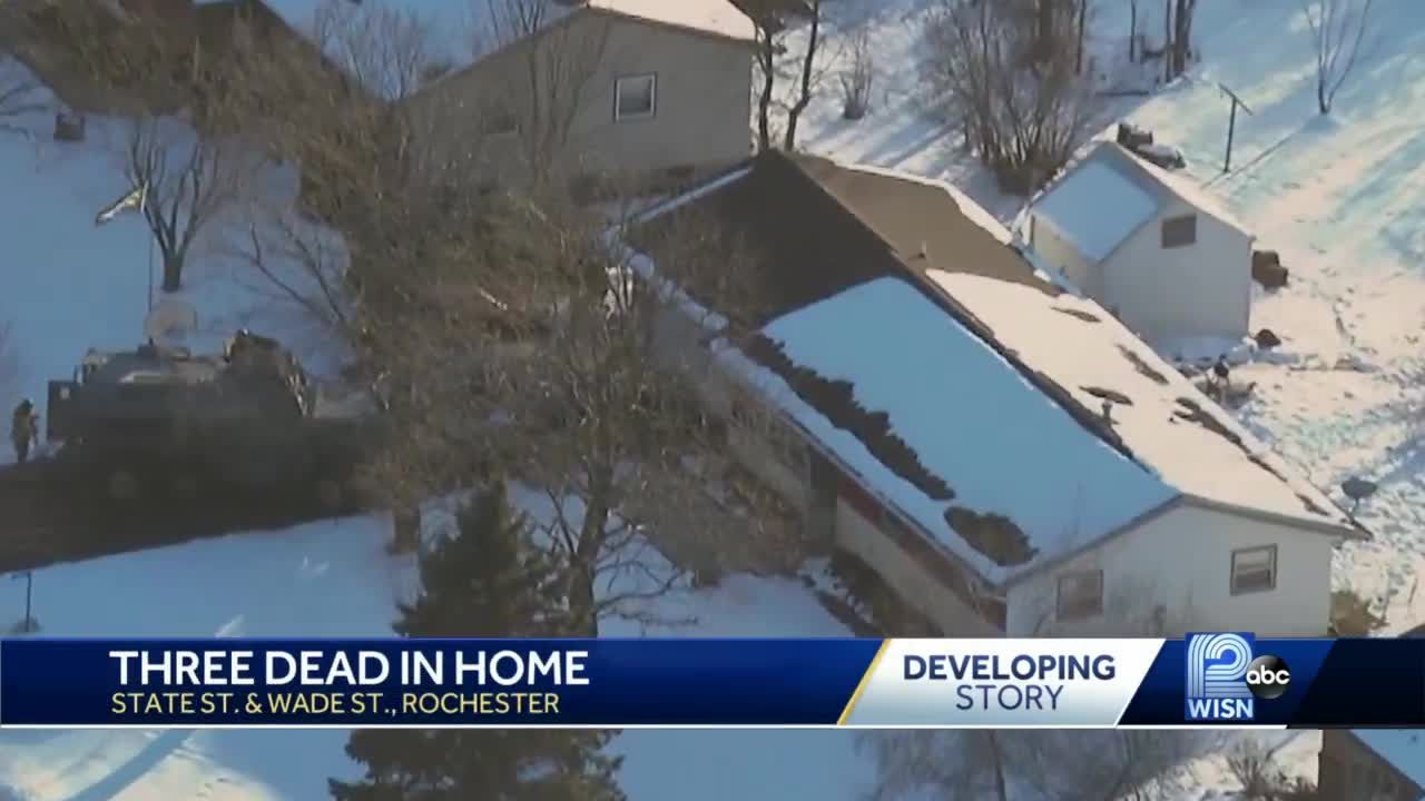 3 people found dead in Rochester home