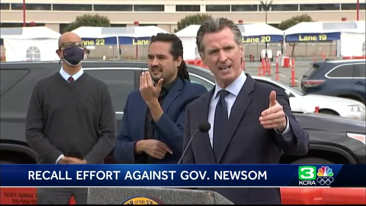 Riggs Report: When will the Newsom recall election be held?