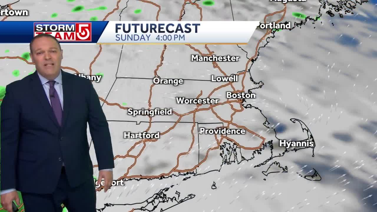 Video: Mild, mostly sunny weather for Mother's Day brunch, lunch