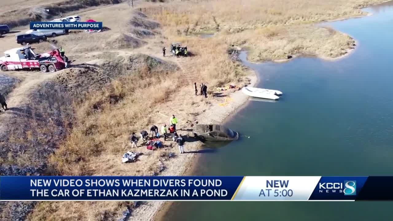 YouTubers release video of discovering missing Iowa man's car in pond
