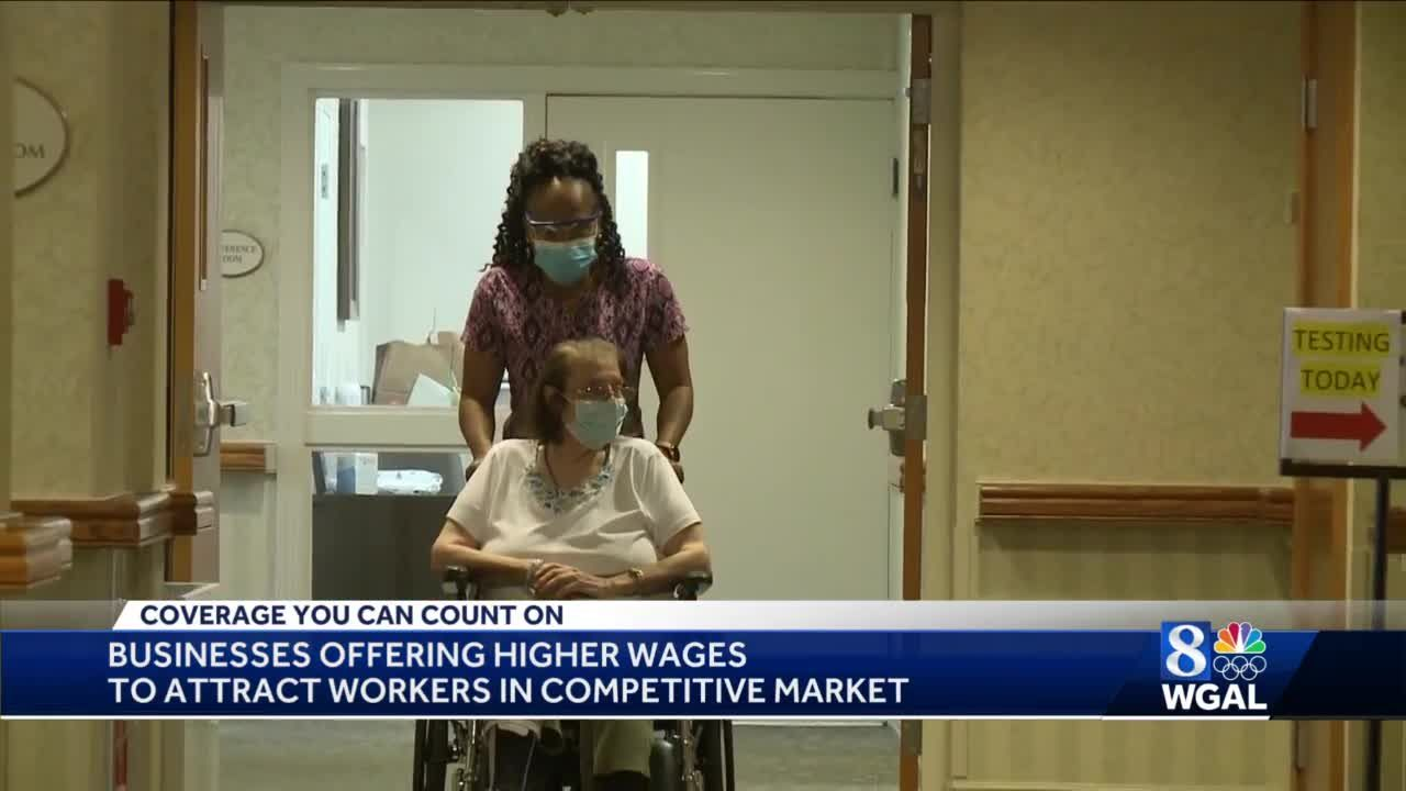Lancaster County retirement community boosts hourly pay to attract workers