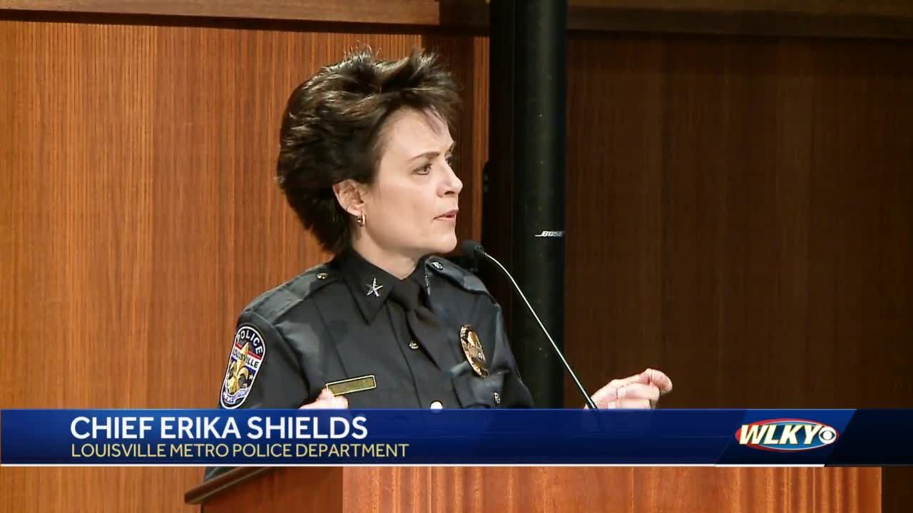 New LMPD chief pledges to rebuild community's trust during swearing-in