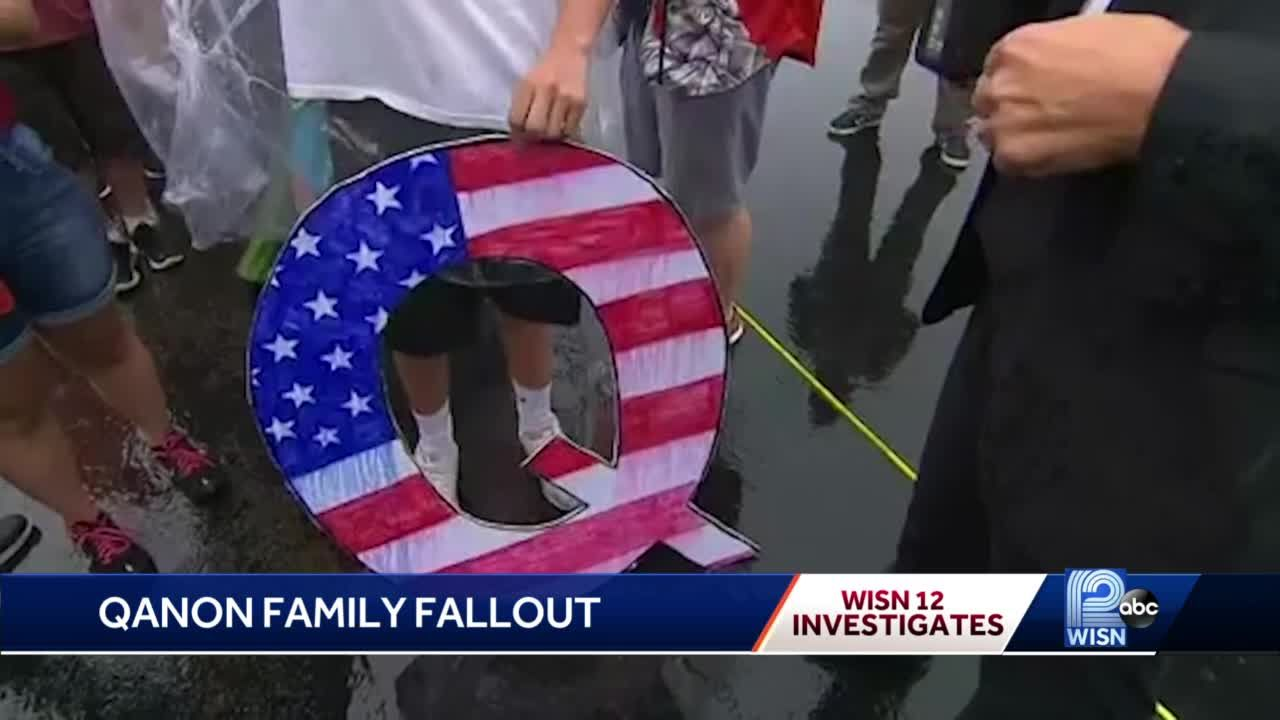 QAnon movement fracturing some Wisconsin families