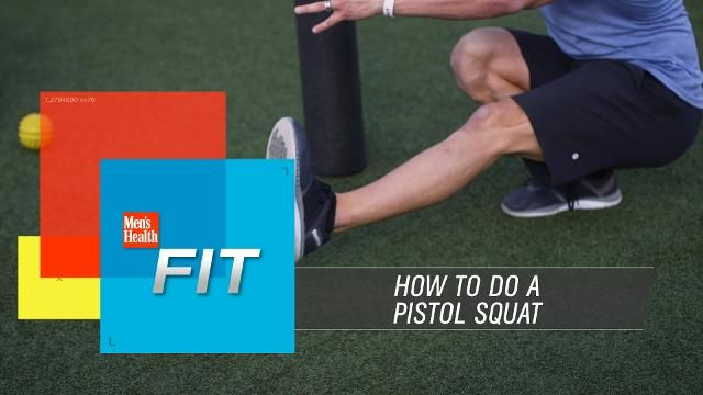 How to Conquer the Pistol Squat