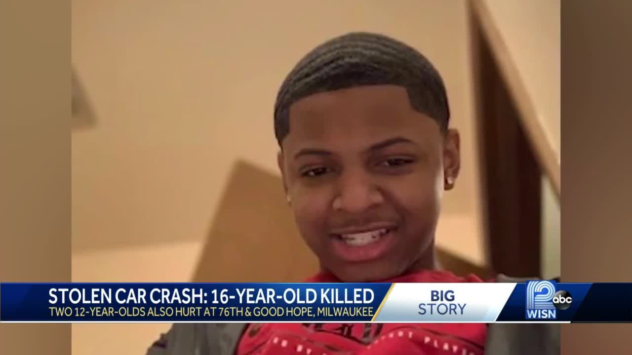Teen driving stolen car killed in head-on crash, 5 others injured