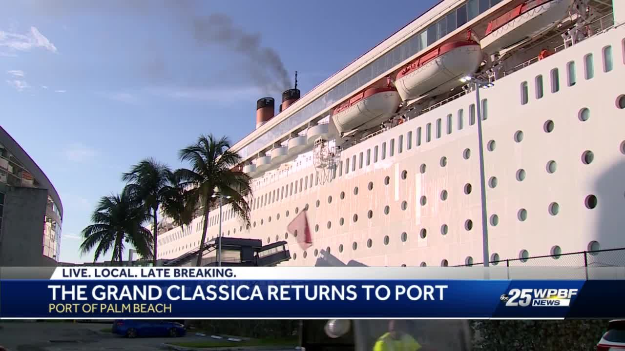 Bahamas Paradise Cruise Line passengers return from first sail in 16 months