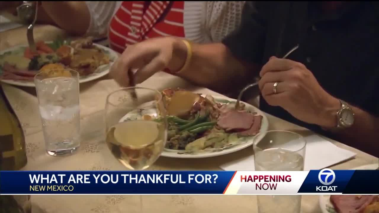 What is New Mexico thankful for this year?
