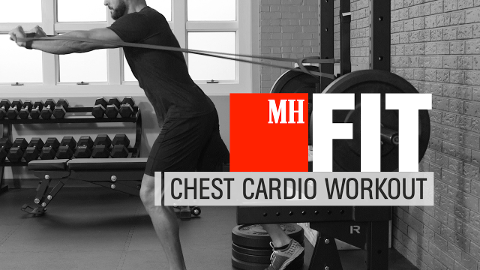 4-Minute Chest and Cardio Workout