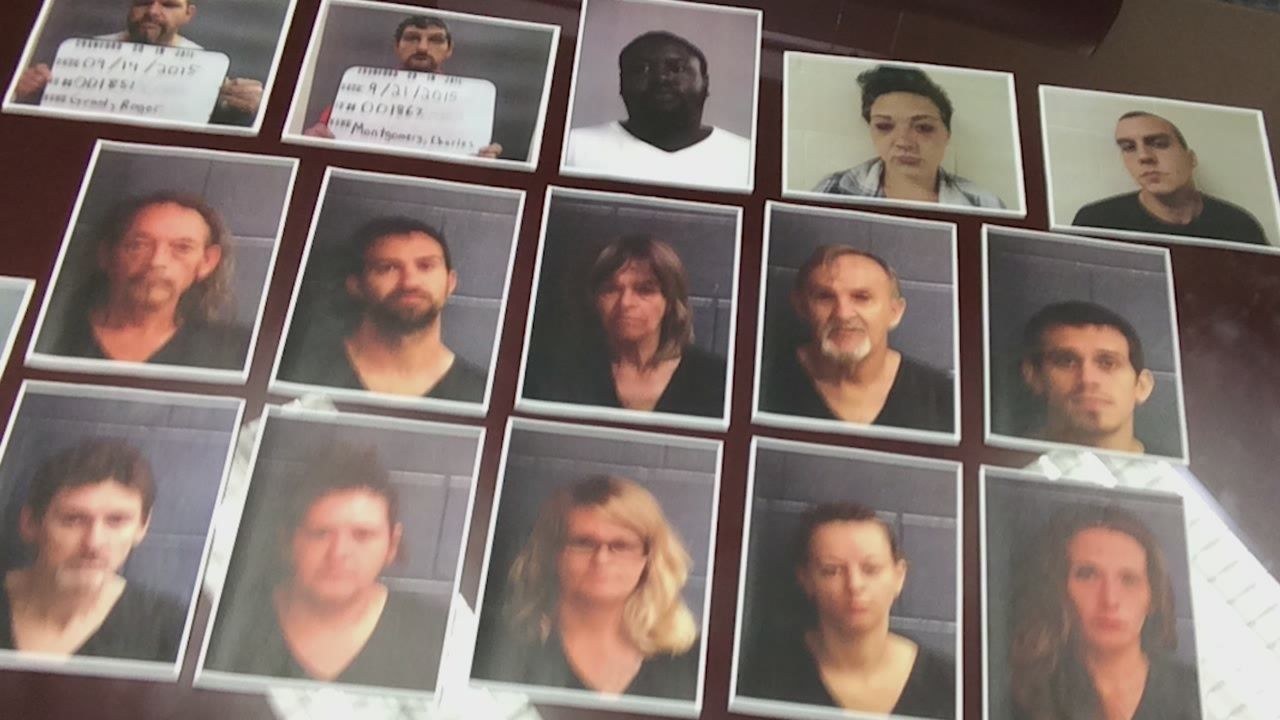 17 drug suspects arrested in Harrison County