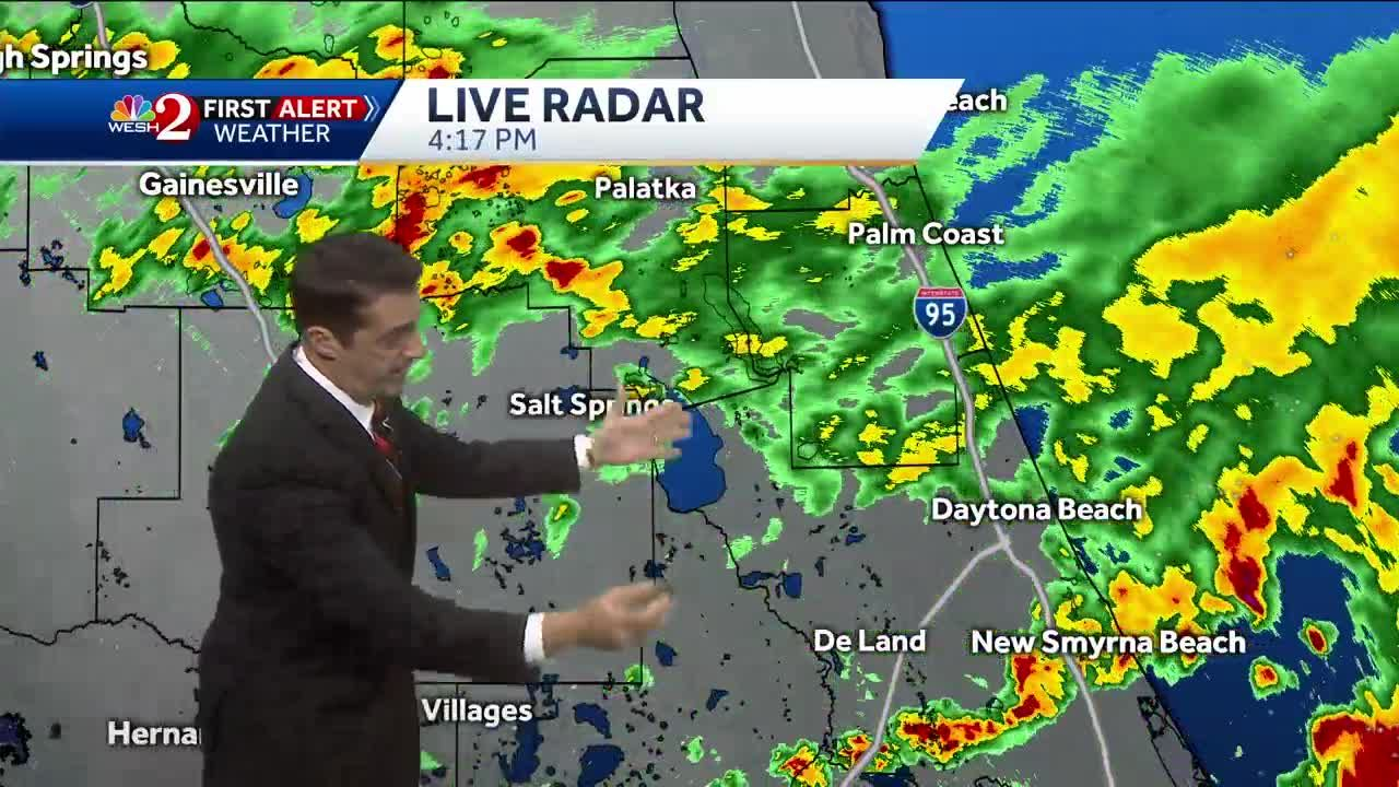 Tracking Rain In Central Florida