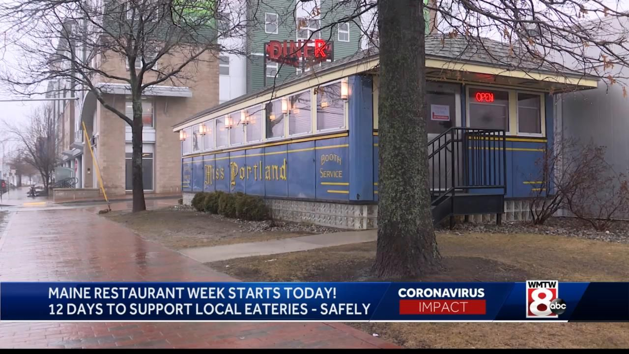 Maine Restaurant Week begins with COVID-19 adjustments