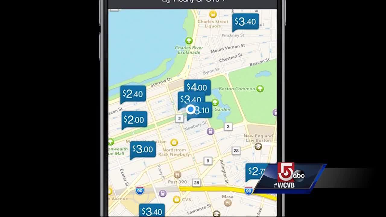 Parking Spot App >> App Helps You Find Parking Spot In Boston
