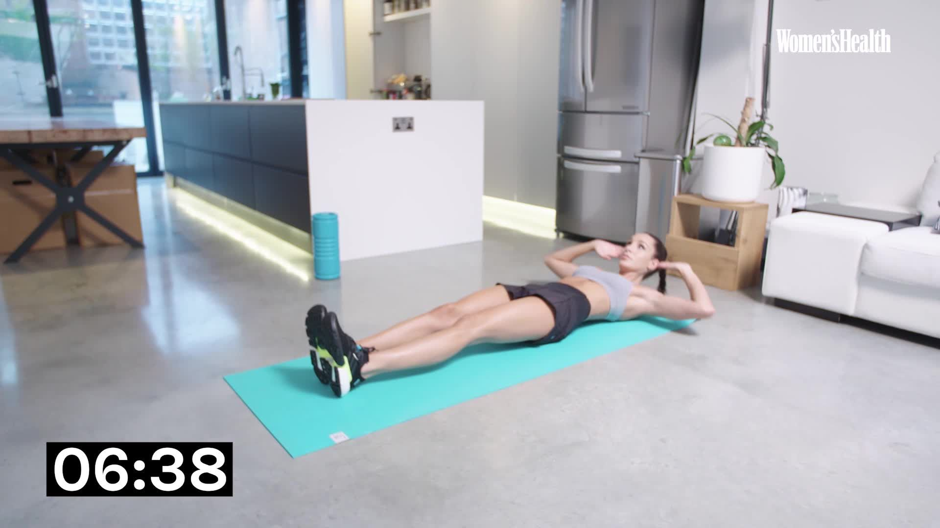 Do This Kayla Itsines Circuit at Home for Core Strength