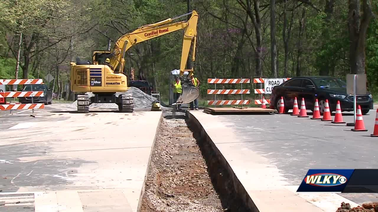 Portions of Cherokee Parkway will be closed repairs