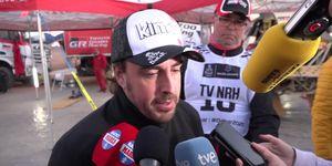 Fernando alonso etapa 4 Dakar